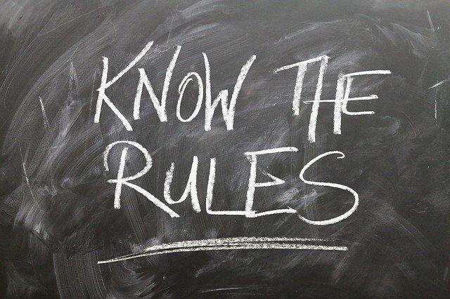 Know the rules, regolamenti